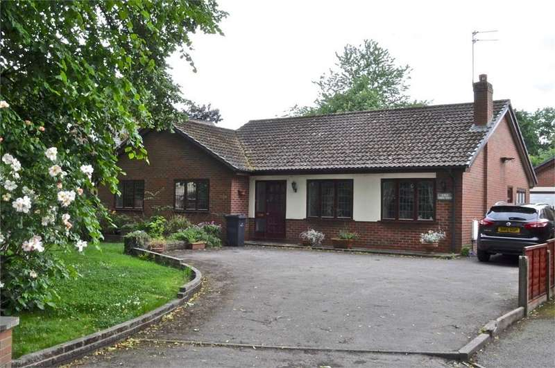 3 Bedrooms Detached Bungalow for sale in Chester Road, Hartford, Northwich, Cheshire