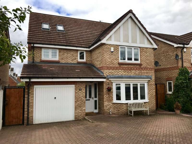 5 Bedrooms Detached House for sale in Latchmoor Close, Barnsley S75