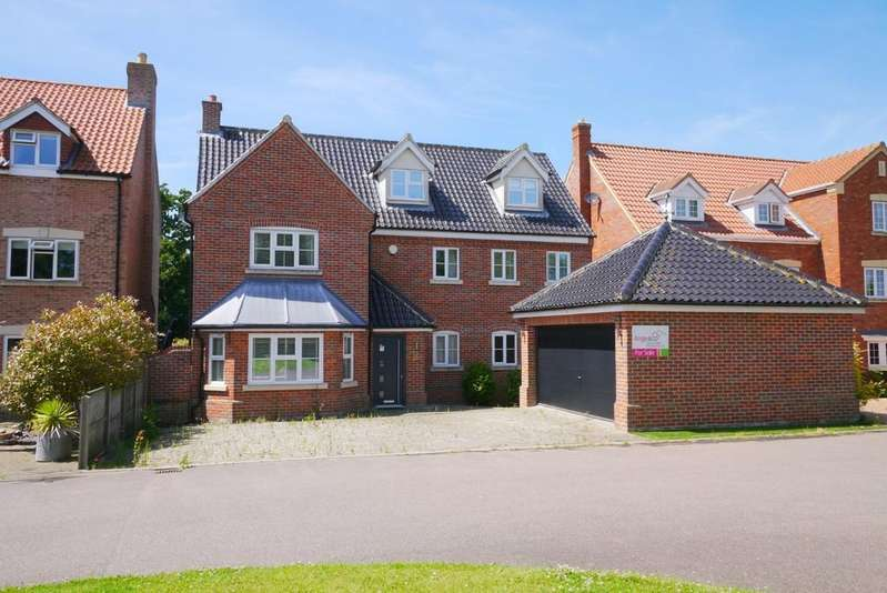 5 Bedrooms Detached House for sale in Flixton View, Oulton, Lowestoft