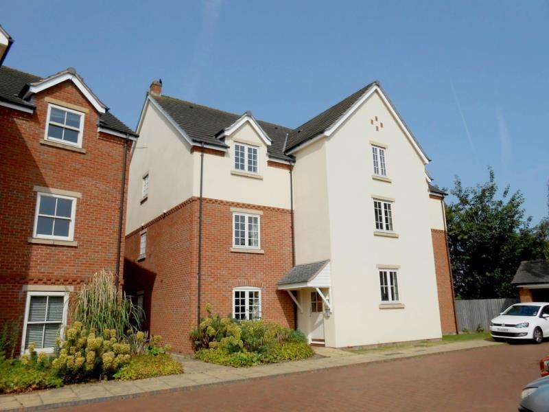 2 Bedrooms Apartment Flat for sale in Dann Place, Wilford, Nottingham, Nottinghamshire
