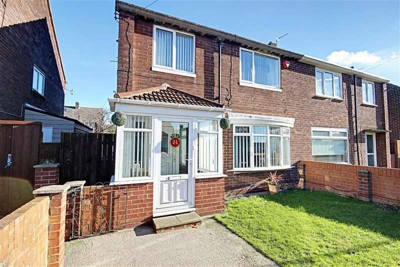 4 Bedrooms Semi Detached House for sale in Rembrandt Avenue, South Shields, Tyne And Wear