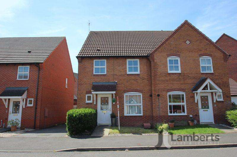 3 Bedrooms Semi Detached House for sale in Rosedale Close, Brockhill