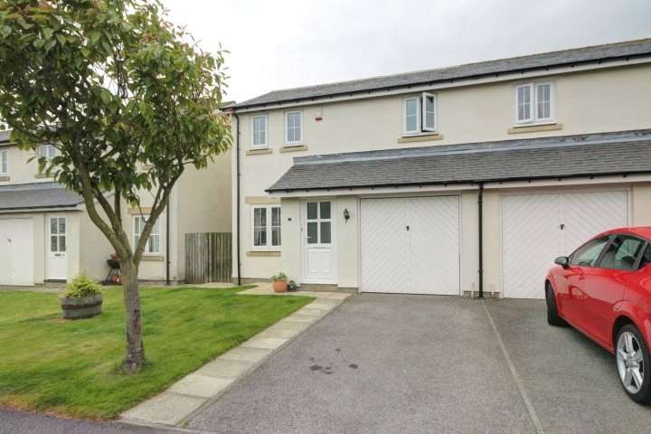 3 Bedrooms Semi Detached House for sale in Hunters Close, Medomsley, Consett, DH8
