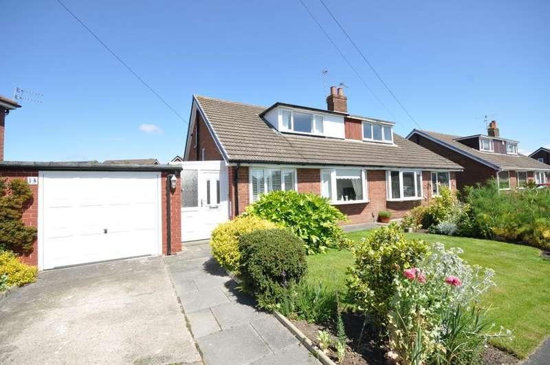 3 Bedrooms Semi Detached Bungalow for sale in Tennyson Avenue, Warton, Preston, Lancashire, PR4 1BL