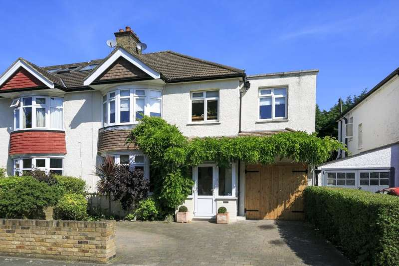 4 Bedrooms Semi Detached House for sale in Poulett Gardens, Twickenham, TW1