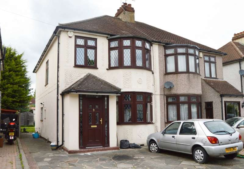 4 Bedrooms Semi Detached House for sale in Sussex Avenue, Harold Wood