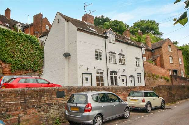 2 Bedrooms End Of Terrace House for sale in Riverside, BRIDGNORTH, Shropshire