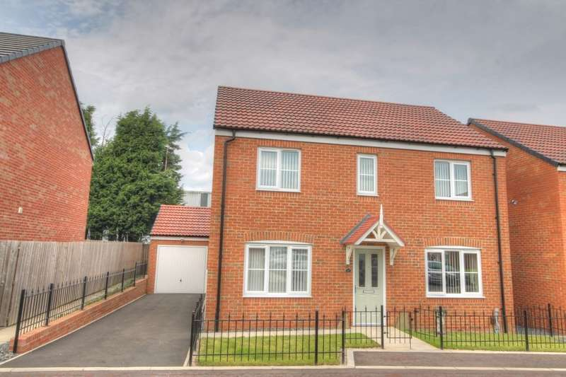 4 Bedrooms Detached House for sale in Wheatfield Road, Westerhope, Newcastle Upon Tyne, NE5