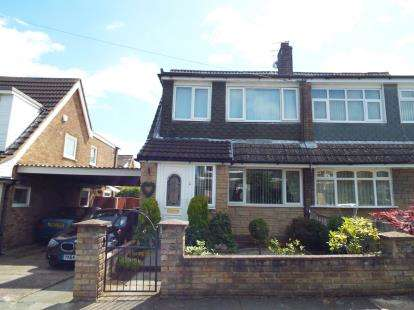 3 Bedrooms Semi Detached House for sale in Balmoral Avenue, St. Helens, Merseyside, WA9