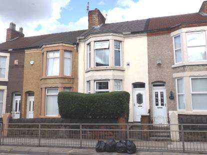 3 Bedrooms Terraced House for sale in Hawthorne Road, Bootle, Liverpool, Merseyside, L20