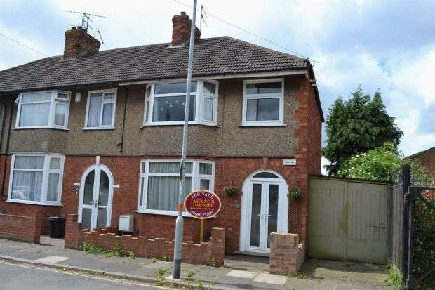 3 Bedrooms Terraced House for sale in Currie Road, Kingsthorpe, Northampton NN2 6HG