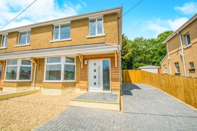 3 Bedrooms Semi Detached House for sale in Hollybush Villas, Church Village, Pontypridd