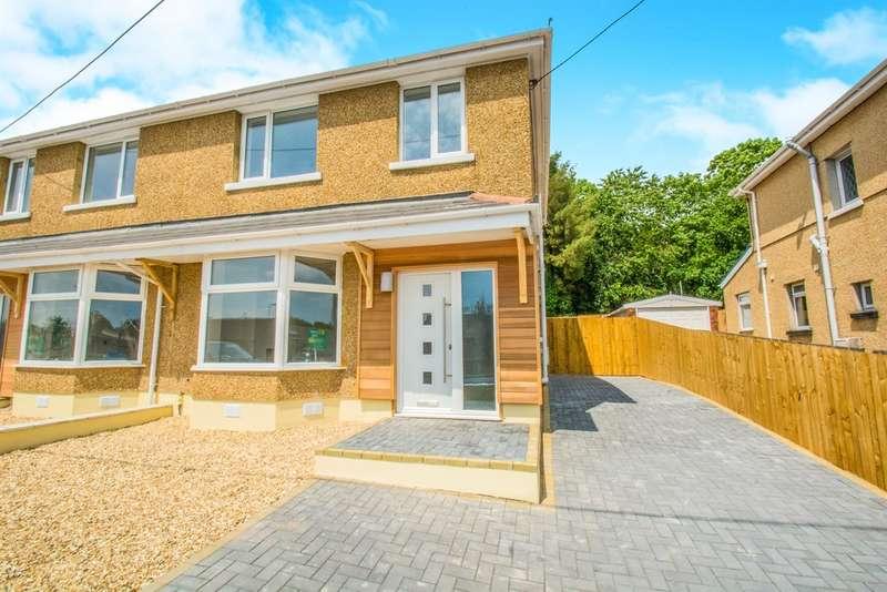 3 Bedrooms Semi Detached House for sale in Hollybush Villas, Church Village, Pontypridd
