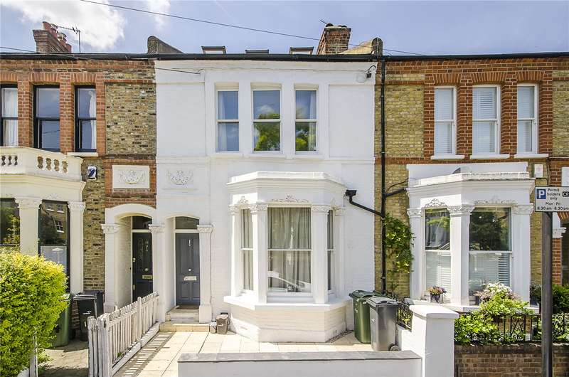4 Bedrooms Terraced House for sale in Rozel Road, London, SW4