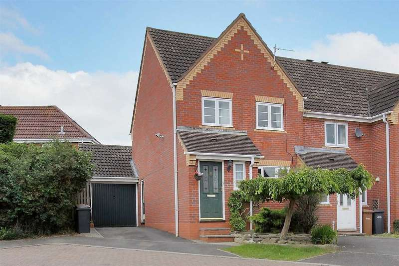 3 Bedrooms End Of Terrace House for sale in Flensburg Close, Andover