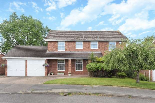 4 Bedrooms Detached House for sale in Corfield Close, FINCHAMPSTEAD, Berkshire
