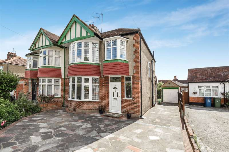 3 Bedrooms Semi Detached House for sale in The Greenway, Rayners Lane, Pinner, Middlesex, HA5