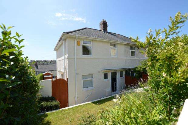 3 Bedrooms Semi Detached House for sale in Western Drive, Plymouth, Devon
