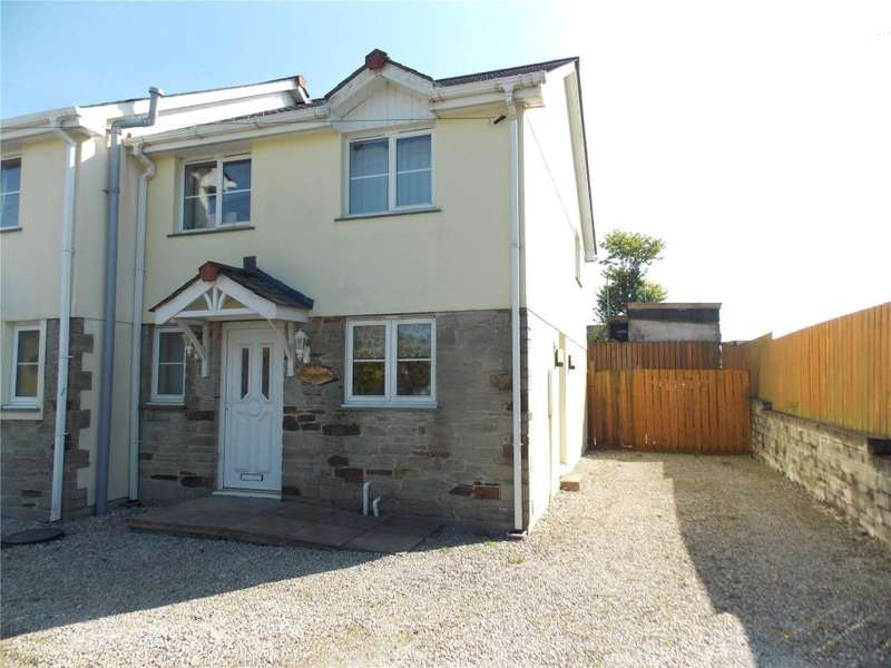 3 Bedrooms Semi Detached House for sale in North Road, Whitemoor, St Austell