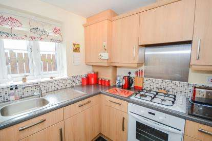 2 Bedrooms Flat for sale in Heather Gardens, North Hykeham, Lincoln, Lincolnshire