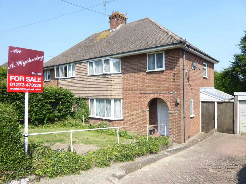 3 Bedrooms Semi Detached House for sale in Cross Way, Lewes