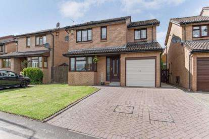 4 Bedrooms Detached House for sale in Binniehill Road, Cumbernauld