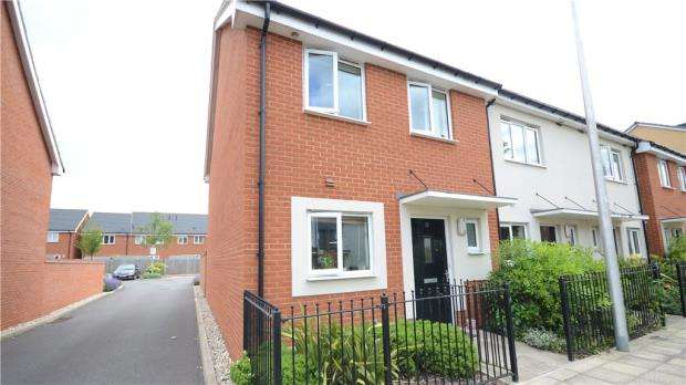 3 Bedrooms End Of Terrace House for sale in St. Agnes Way, Reading, Berkshire