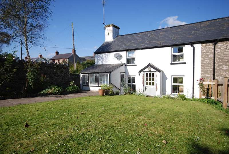 2 Bedrooms Semi Detached House for sale in Kingscombe Cottages, Factory Road, Llanblethian, Near Cowbridge, Vale of Glamorgan, CF71 7JD