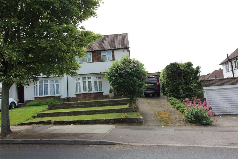 3 Bedrooms Semi Detached House for sale in Tintagel Road, Orpington, Kent, BR5 4LQ