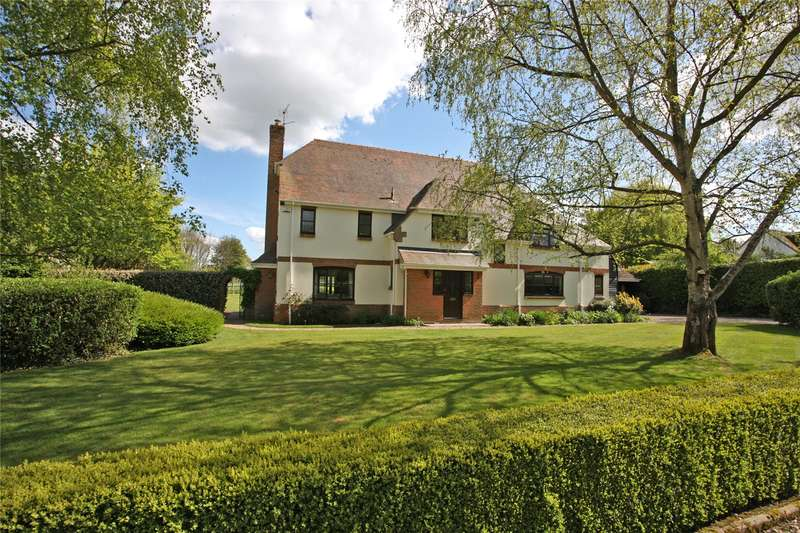 5 Bedrooms Detached House for sale in Wingate Lane, Long Sutton, Hook, Hampshire, RG29