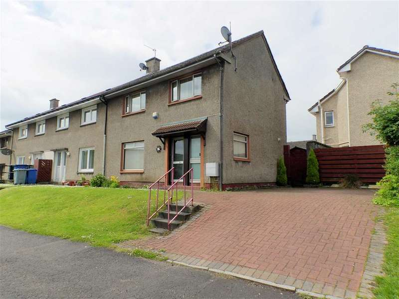 3 Bedrooms End Of Terrace House for sale in Abercromby Crescent, Calderwood, EAST KILBRIDE