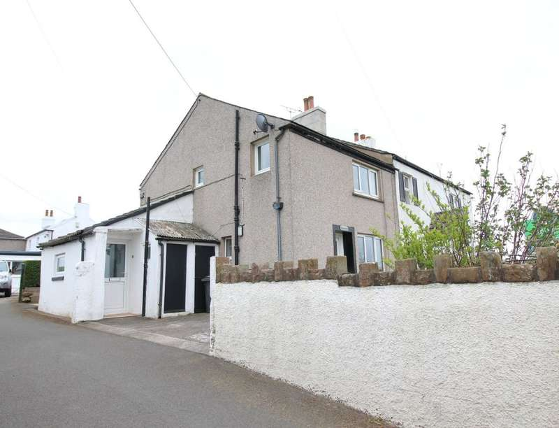 2 Bedrooms Semi Detached House for sale in West Moor End, Aspatria, Wigton, CA7