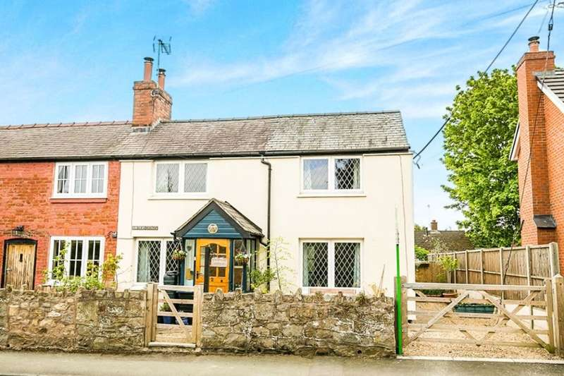 3 Bedrooms Semi Detached House for sale in Hawthorne Cottages, Weston Rhyn, Oswestry, SY10