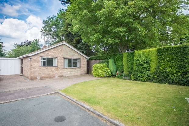 2 Bedrooms Semi Detached Bungalow for sale in Leomansley Close, Lichfield, Staffordshire
