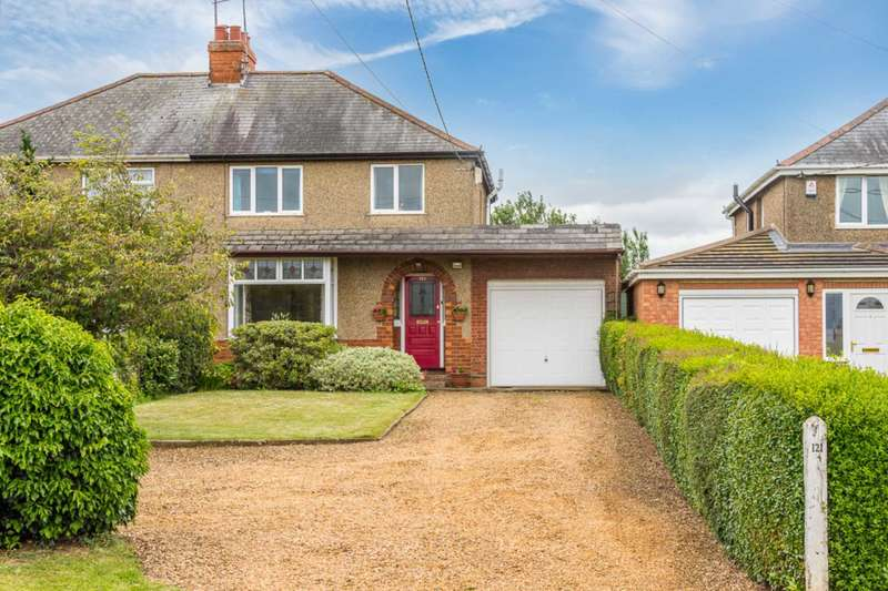 3 Bedrooms Semi Detached House for sale in Station Road, Cogenhoe