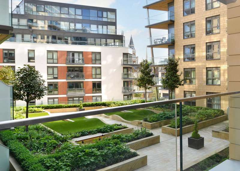 2 Bedrooms Apartment Flat for sale in Vista House, Dickens Yard, London