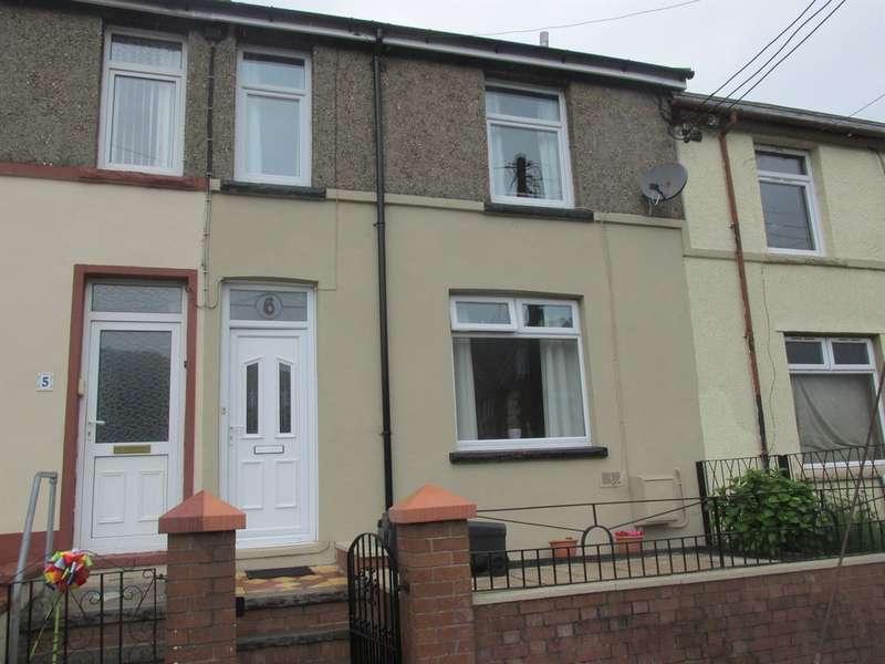 3 Bedrooms Terraced House for sale in Pleasant View, Aberfan, MERTHYR TYDFIL