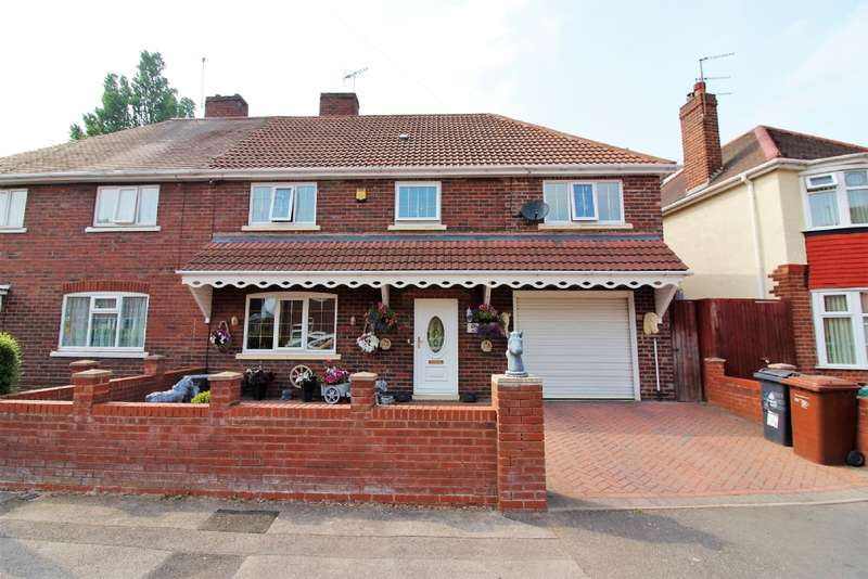 4 Bedrooms Semi Detached House for sale in Victory Avenue, Darlaston