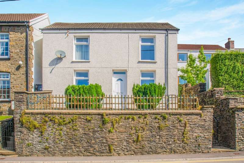 3 Bedrooms Detached House for sale in High Street, Tonyrefail, Porth