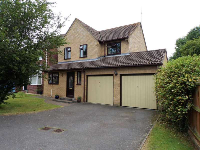 4 Bedrooms Detached House for sale in Dashwood Close, Ipswich