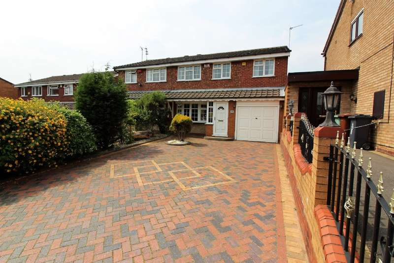 4 Bedrooms Semi Detached House for sale in Western Close, Bentley