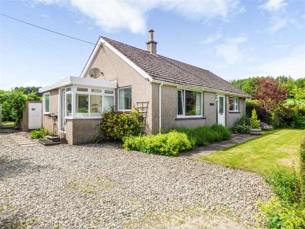 3 Bedrooms Detached Bungalow for sale in Edzell, Bridgend,, Brechin, Angus