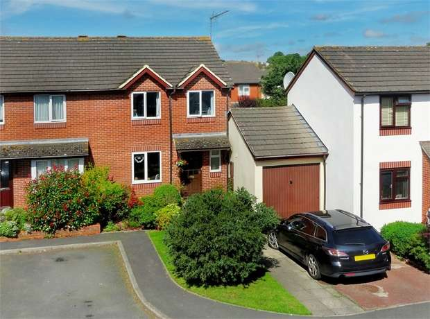 3 Bedrooms Semi Detached House for sale in Roseland Avenue, Heavitree, EXETER, Devon
