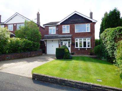5 Bedrooms Detached House for sale in Dystelegh Road, Disley, Stockport, Cheshire