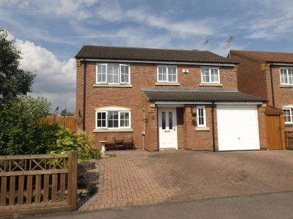 4 Bedrooms Detached House for sale in Cromford Way, Broughton Astley, Leicester, Leicestershire