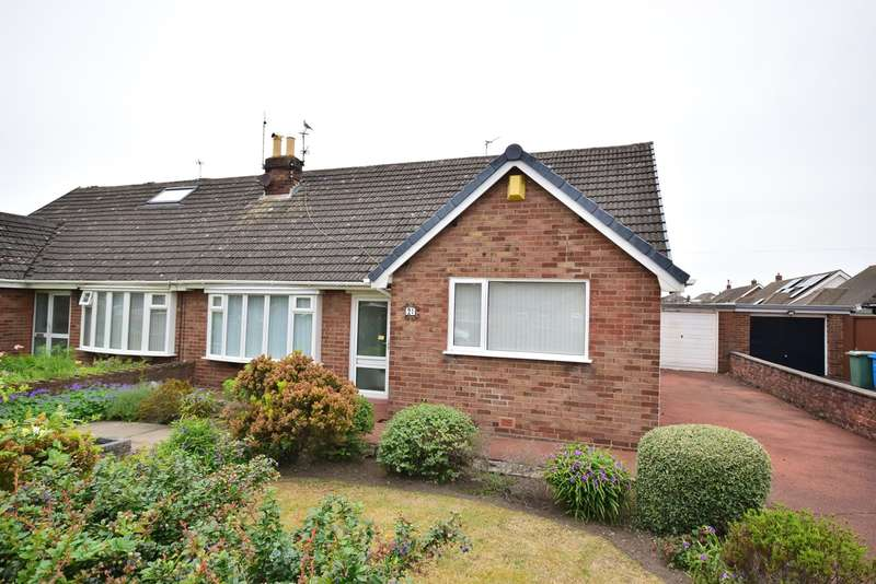 2 Bedrooms Semi Detached Bungalow for sale in Ramsgate Road, Lytham St Annes, FY8