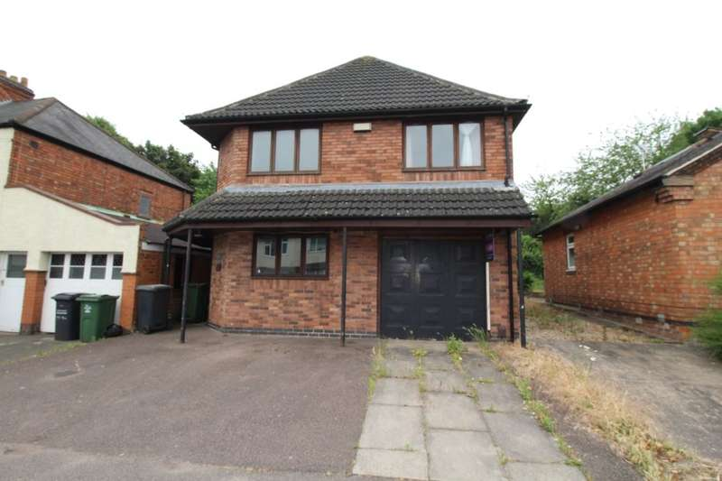 4 Bedrooms Detached House for sale in Ashleigh Drive, Loughborough, LE11