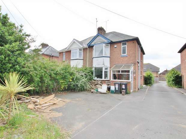 3 Bedrooms Semi Detached House for sale in Dorchester Road, Upton, Poole, Dorset