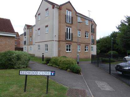 2 Bedrooms Flat for sale in Redwood Close, Bilborough, Nottingham, Nottinghamshire