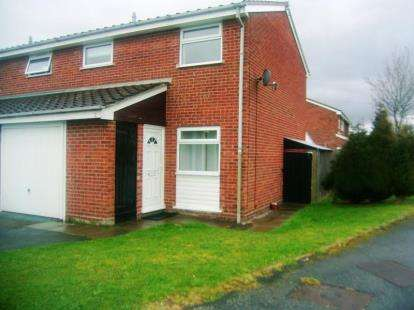 3 Bedrooms Terraced House for sale in Sedgefield Grove, Perton, Wolverhampton, Staffordshire
